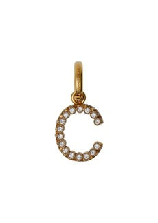 Burberry Crystal 'C' Alphabet Charm
