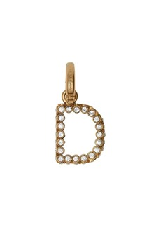 Burberry Crystal 'D' Alphabet Charm