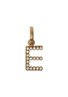 Burberry Crystal 'E' Alphabet Charm