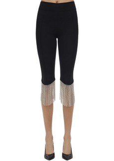 Burberry Crystal Fringe Pants