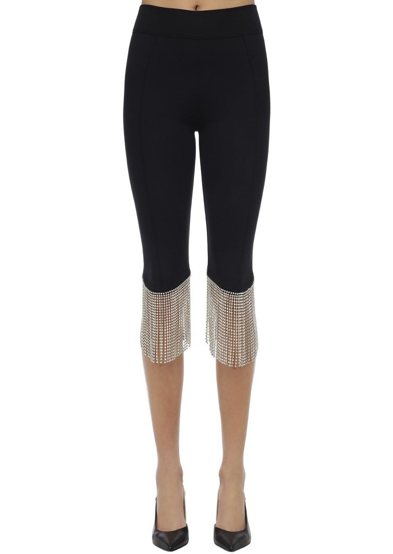 Burberry Crystal Fringe Pants