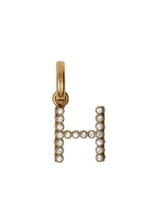 Burberry Crystal 'H' Alphabet Charm
