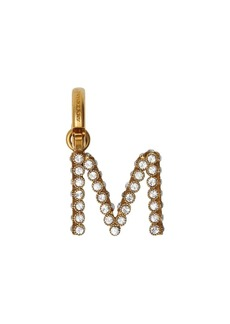 Burberry Crystal 'M' Alphabet Charm
