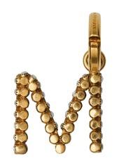 Burberry Crystal 'M' Alphabet Charm