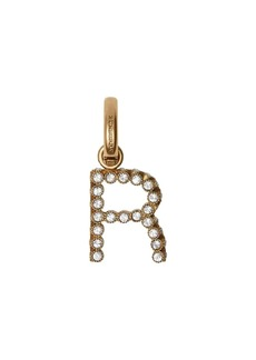 Burberry Crystal 'R' Alphabet Charm