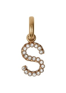 Burberry Crystal 'S' Alphabet Charm