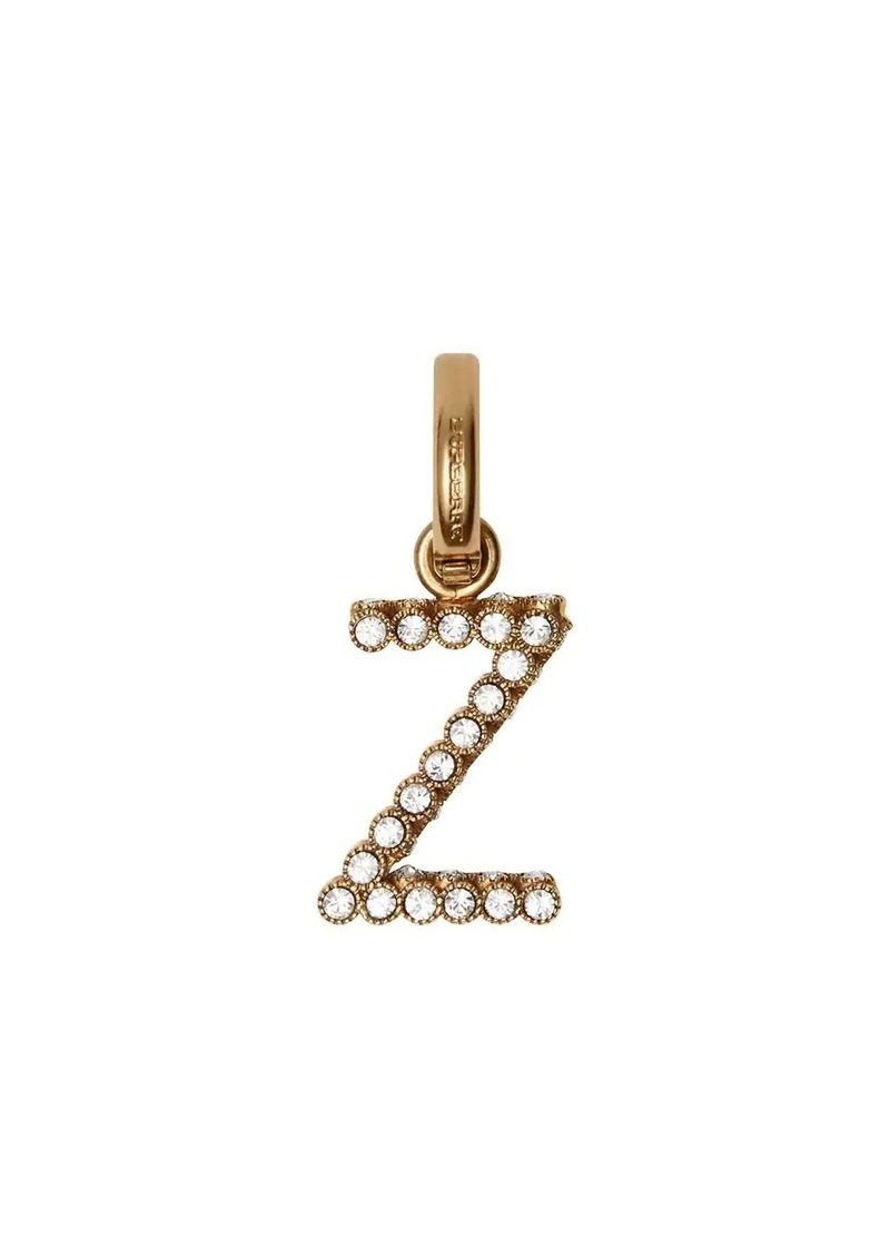 Burberry Crystal 'Z' Alphabet Charm