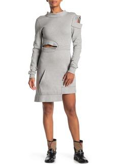 Burberry Cutout Sweatshirt Dress