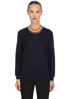 Burberry Dales Knit Merino Wool Sweater