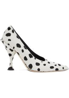 Burberry dalmatian print pumps