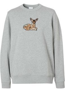 Burberry deer-motif jumper