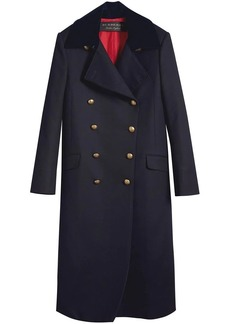 Burberry Doeskin Wool Military Coat