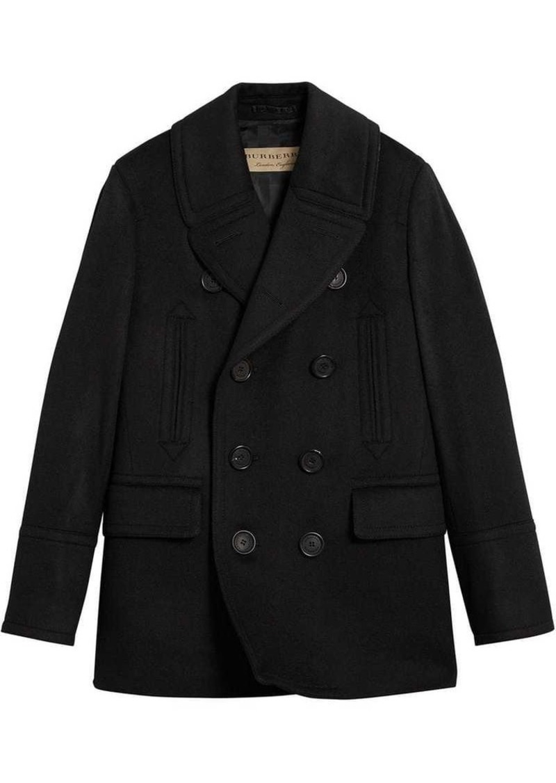 2a2b70434 Burberry double breasted pea coat