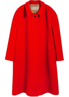 Burberry Double-faced Wool Cashmere Oversized Car Coat
