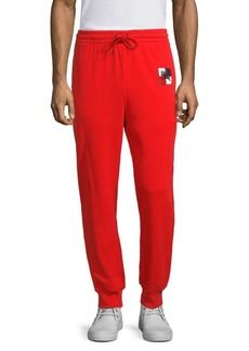 Burberry Embroidered Logo Core Sweatpants