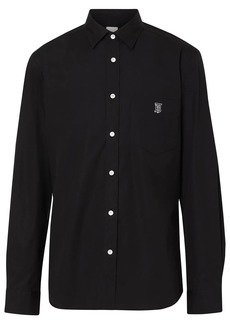 Burberry embroidered logo shirt