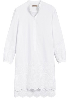 Burberry embroidered shirt dress