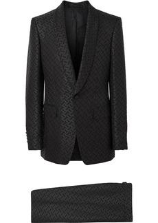 Burberry Monogram Jacquard English fit suit