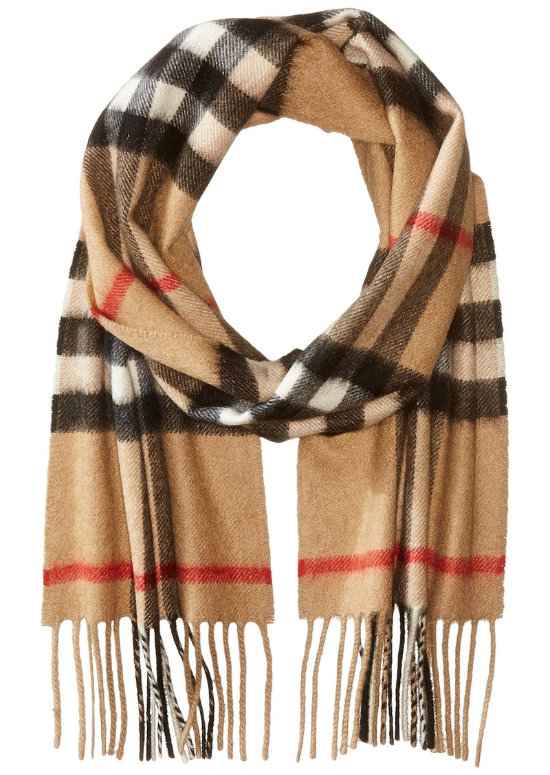 c7a897404 Burberry Exploded Check Cashmere Scarf (Little Kids/Big Kids) | Misc ...