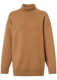Burberry Farah Cashmere Knit Turtleneck Sweater
