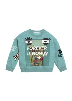 Burberry Forever Is Now Graphic Sweatshirt