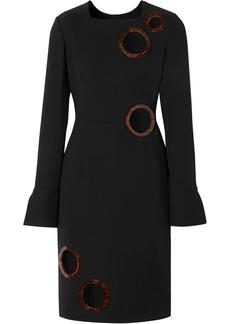 Burberry framed cut-out shift dress