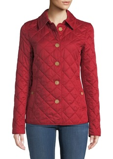 Burberry Frankby Button-Front Quilted Jacket
