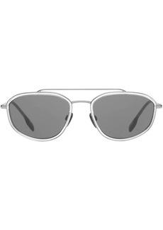 Burberry Geometric Navigator Sunglasses