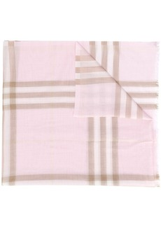 Burberry Giant Check lightweight scarf