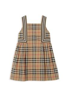 Burberry Girl's Astrid Iconic-Print Dress
