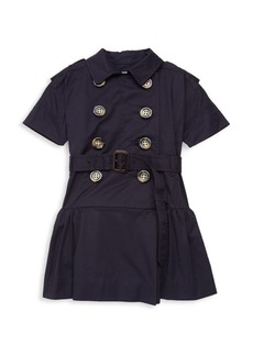 Burberry Little Girl's & Girl's Cynthie A-Line Shirtdress