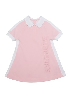 Burberry Girl's Stacey Short-Sleeve Logo Polo Dress  Size 3-14