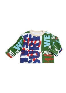 Burberry Godfrey Graffiti-Print Sweatshirt
