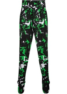 Burberry Graffiti Print Leggings