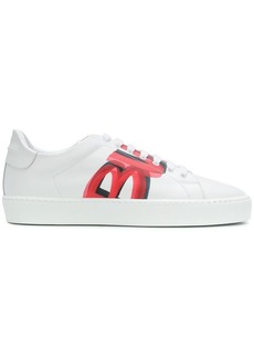 Burberry graffiti print sneakers