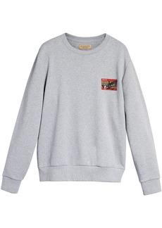 Burberry Graffitied Ticket Print Sweatshirt