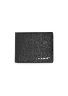 Burberry Grainy Leather Bifold Wallet