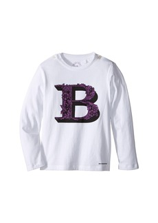 Burberry Graphic Long Sleeve Top (Infant/Toddler)