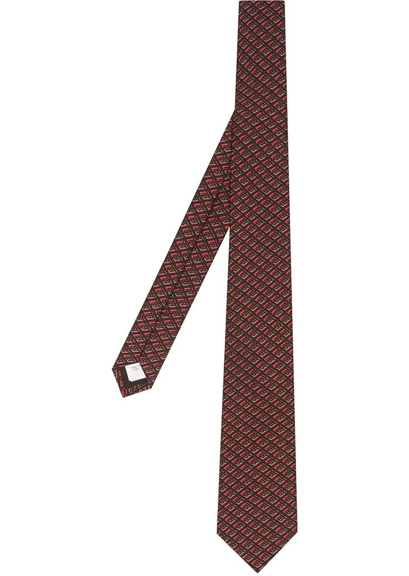 Burberry graphic tie