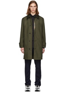 Burberry Green Ashbourne Coat