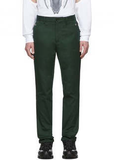 Burberry Green Classic Trousers
