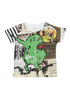 Burberry Green Monster Cotton Tee