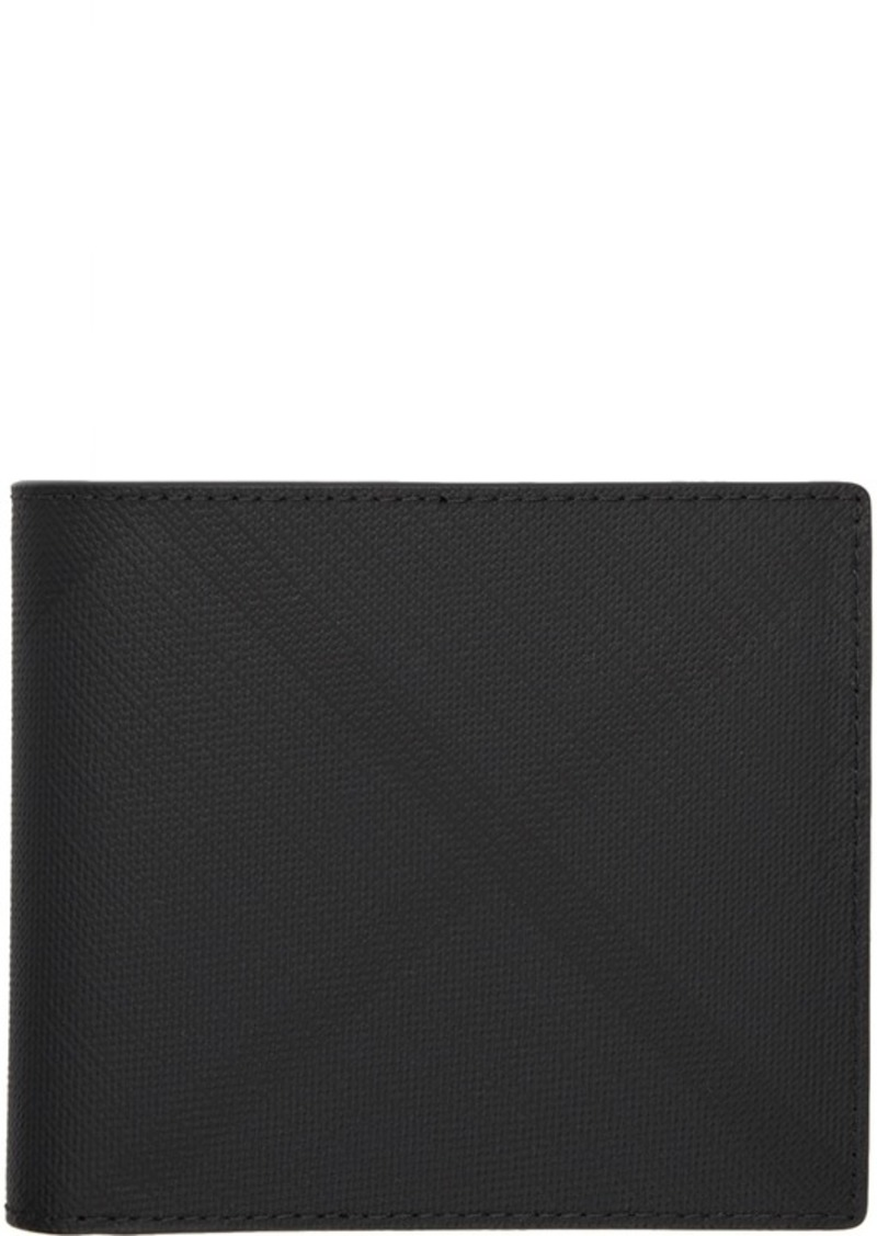 Burberry Grey London Check International Bifold Wallet