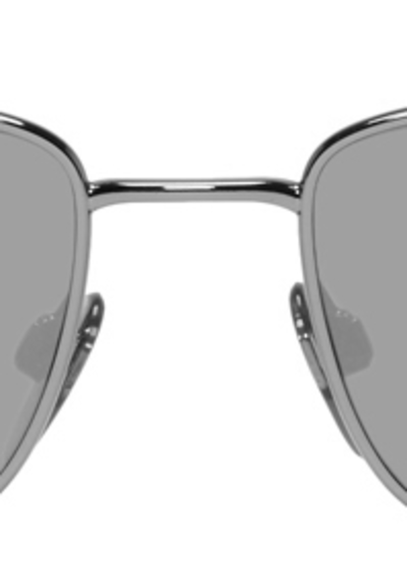 Burberry Gunmetal 'B' Sunglasses