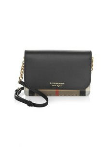 Burberry Hampshire Leather Wristlet