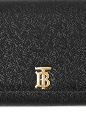 Burberry Hannah Grained Leather Chain Wallet