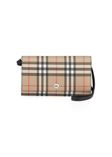 Burberry Hannah Vintage Check Crossbody Bag