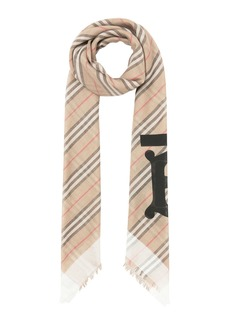 Burberry Heritage Faded Icon Stripe Scarf