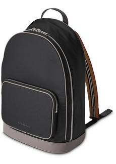 Burberry Heritage Stripe Detail Nylon Backpack