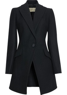Burberry Herringbone Wool Cashmere Blend Tailored Jacket